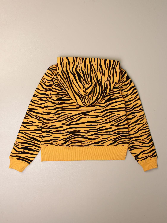 毛衣 Calvin Klein: 毛衣 儿童 Calvin Klein 黄色 2