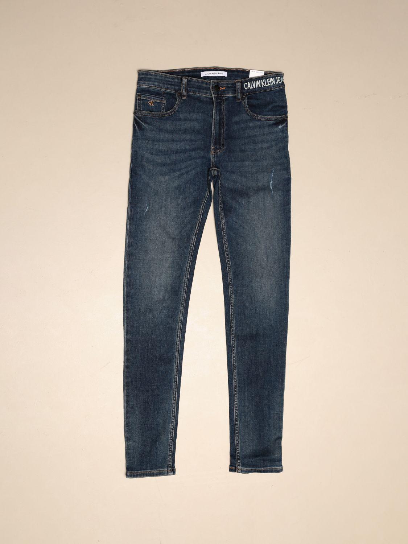 Jeans Calvin Klein: Calvin Klein high-waisted jeans denim 1
