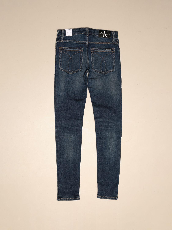Jeans Calvin Klein: Calvin Klein high-waisted jeans denim 2
