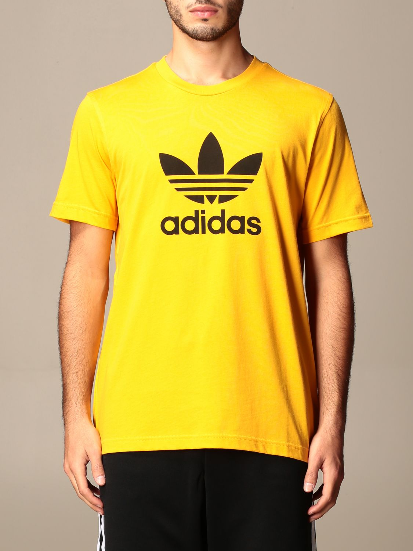 T-shirt Adidas Originals: T-shirt men Adidas Originals yellow 1