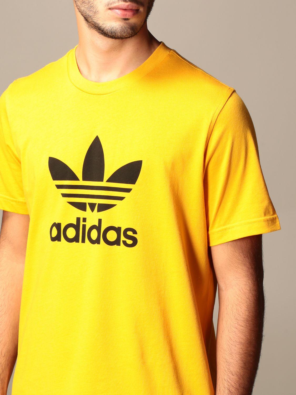 T-shirt Adidas Originals: T-shirt men Adidas Originals yellow 3