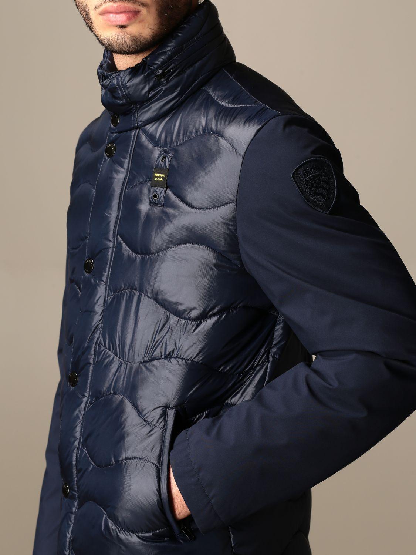 Jacket Blauer: Jacket men Blauer blue 4