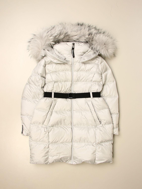 Jacket Freedomday: Freedomday hooded down jacket white 1
