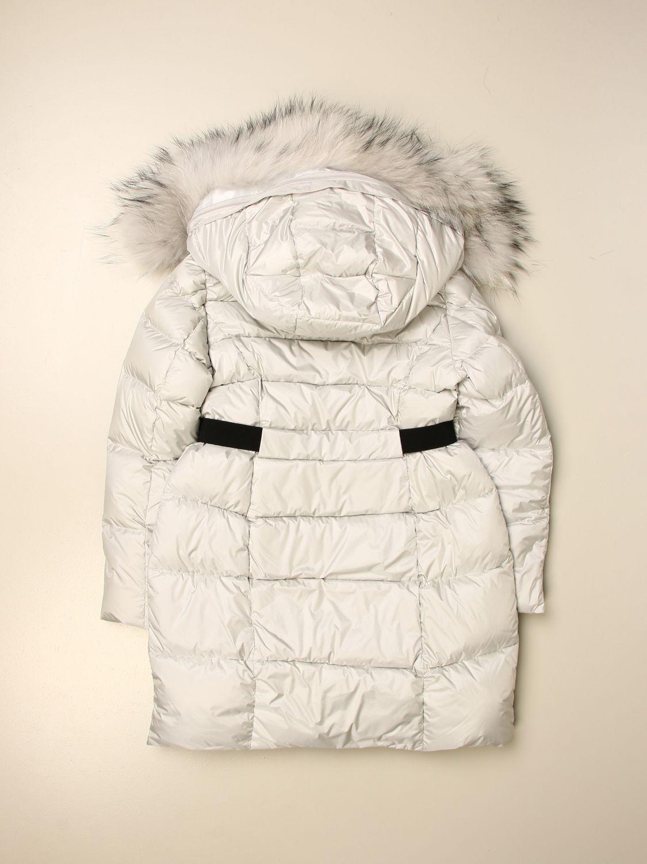 Jacket Freedomday: Freedomday hooded down jacket white 2
