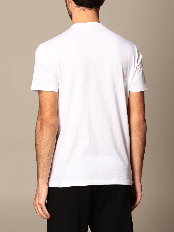 T-shirt Alexander Mcqueen: Alexander McQueen cotton t-shirt with logo white 3