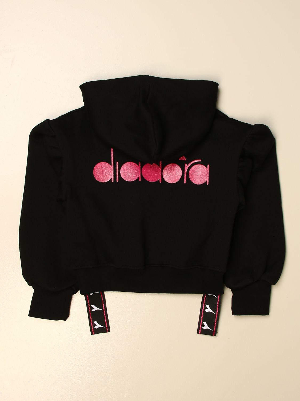 Jersey Diadora: Jersey niños Diadora negro 2