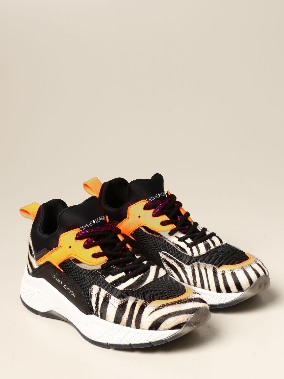 Sneakers Crime London: Schuhe damen Crime London bunt 2