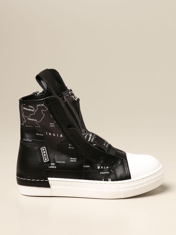 Shoes Cinzia Araia: Cinzia Araia sneakers in real leather white 1