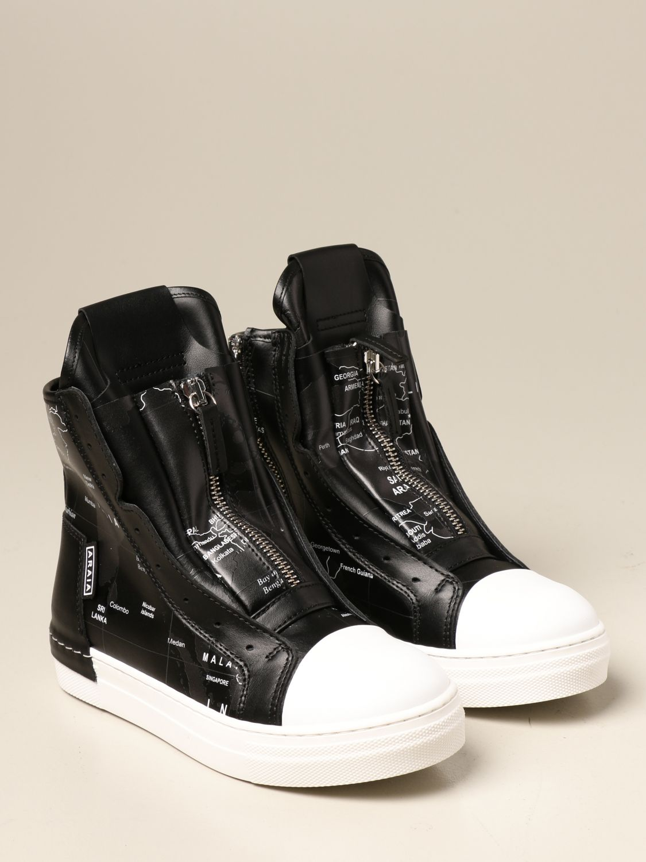 Shoes Cinzia Araia: Cinzia Araia sneakers in real leather white 2