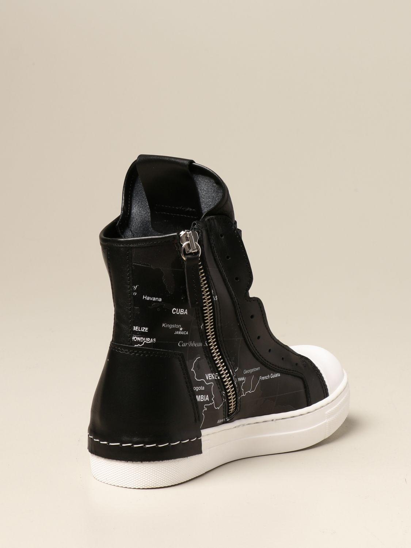 Shoes Cinzia Araia: Cinzia Araia sneakers in real leather white 3