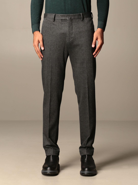 Pantalone Briglia: Pantalone classic Briglia a vita regolare antracite 1