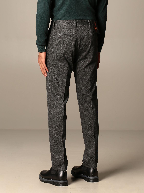 Pantalone Briglia: Pantalone classic Briglia a vita regolare antracite 2