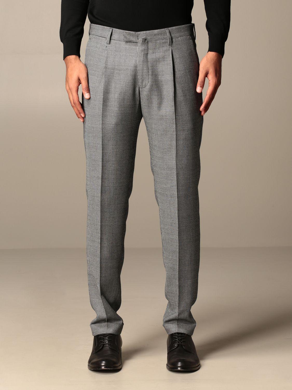 Trousers Briglia: Trousers men Briglia grey 1