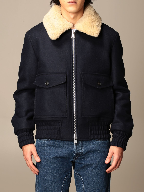 Куртка Ami Alexandre Mattiussi: Куртка Мужское Ami Alexandre Mattiussi темно-синий 1