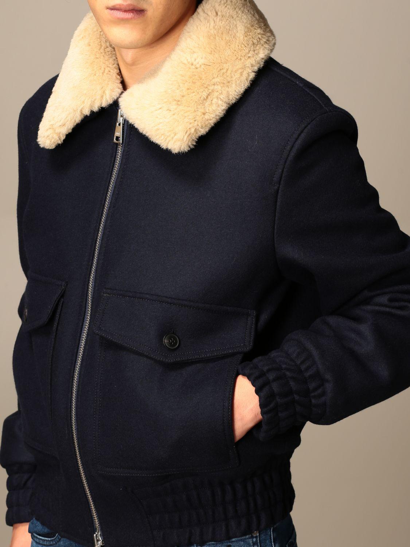 Куртка Ami Alexandre Mattiussi: Куртка Мужское Ami Alexandre Mattiussi темно-синий 4