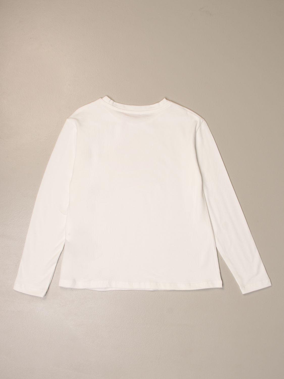 Camisetas Miss Blumarine: Camisetas niños Miss Blumarine blanco 2