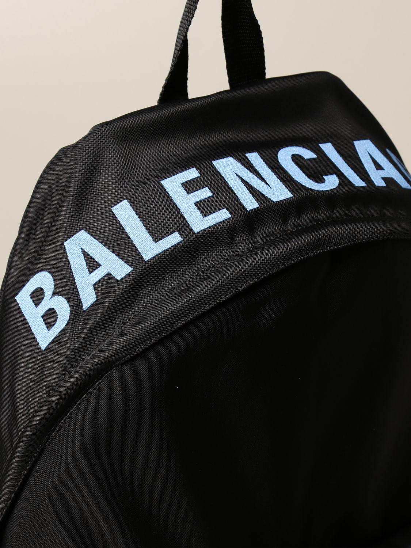 Borsa a tracolla Balenciaga: Zaino Balenciaga in nylon nero 4