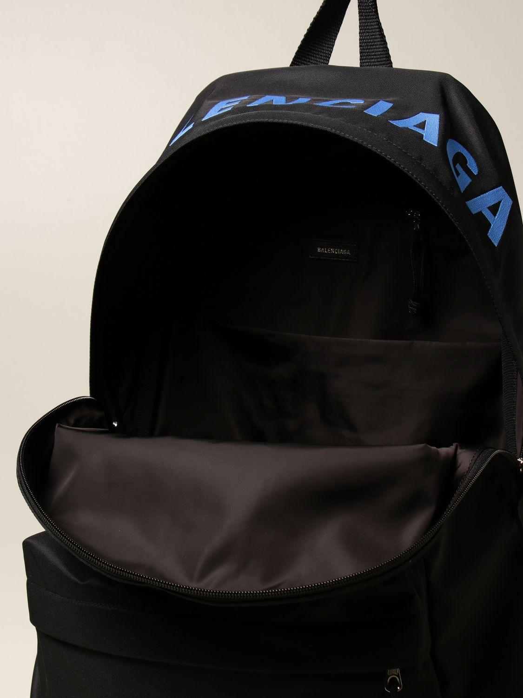 Borsa a tracolla Balenciaga: Zaino Balenciaga in nylon nero 5