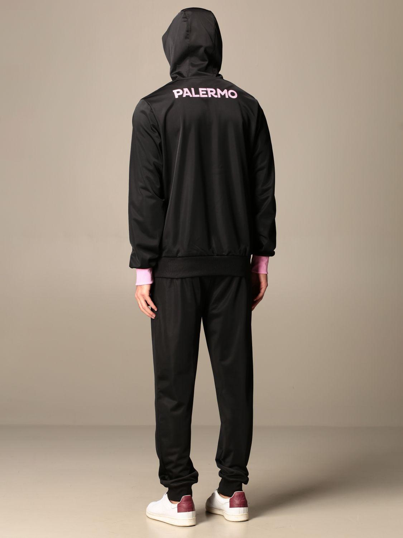 Tuta Palermo: Tuta aldatz da gara palermo in tessuto tricot nero 2