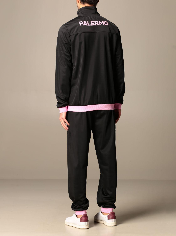 Tuta Palermo: Tuta alfons palermo in tessuto tricot nero 3
