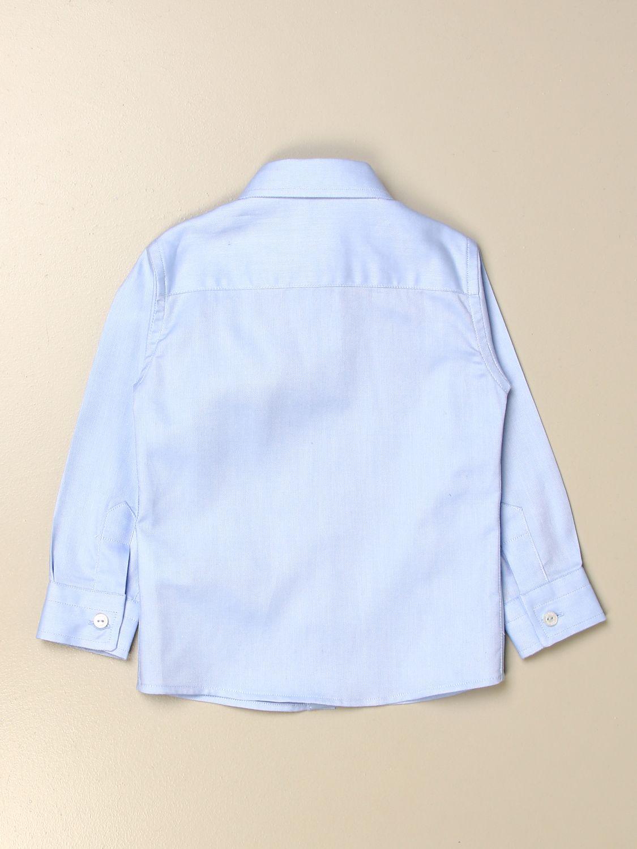 Shirt Le Bebé: Le Bebè classic shirt in cotton sky blue 2