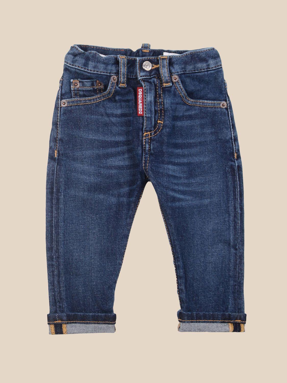 Trousers Dsquared2 Junior: Trousers kids Dsquared2 Junior denim 1