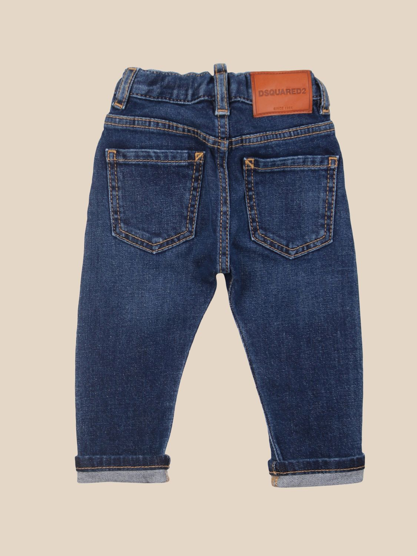 Trousers Dsquared2 Junior: Trousers kids Dsquared2 Junior denim 2