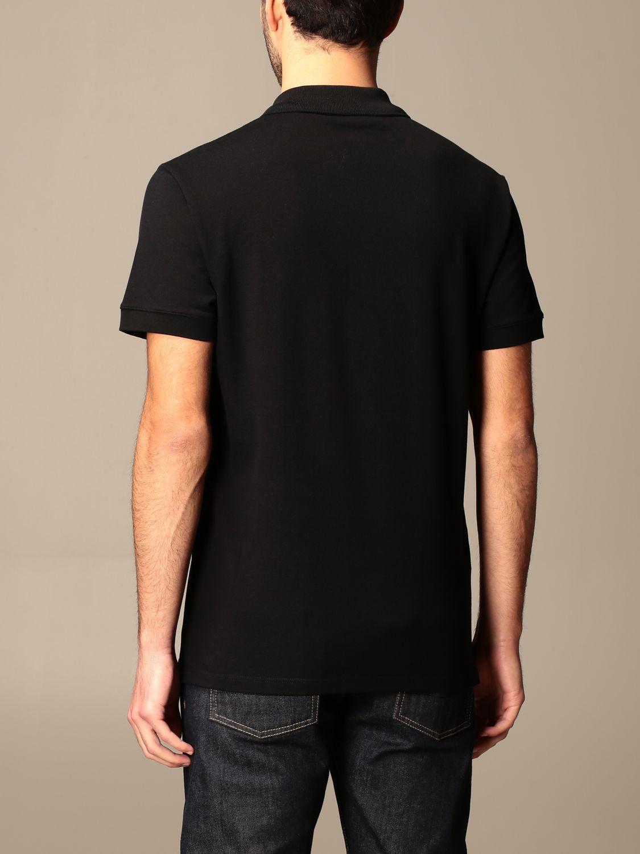 Polo shirt Alexander Mcqueen: T-shirt men Alexander Mcqueen black 3