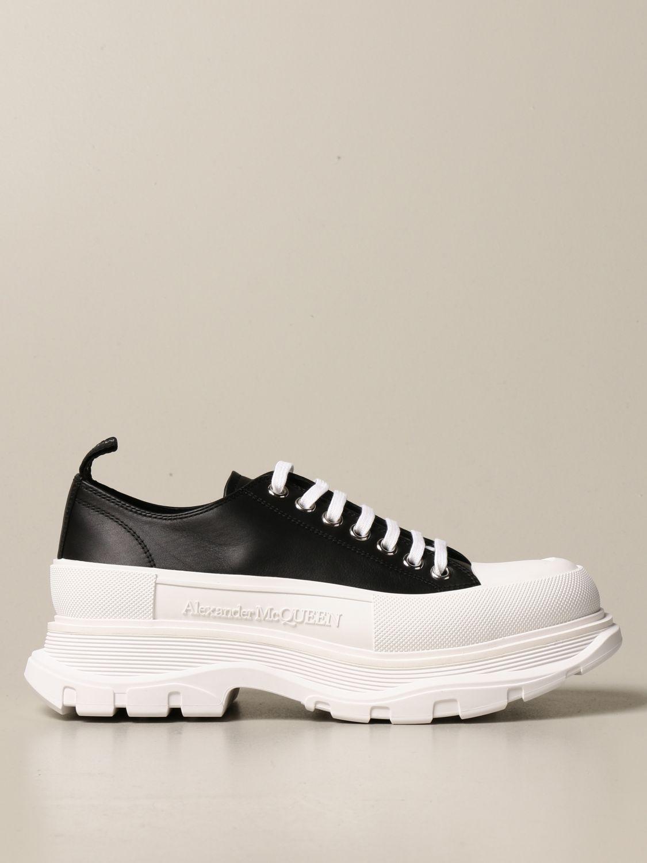 Sneakers Alexander Mcqueen: Sneakers Alexander McQueen in pelle rosso 1