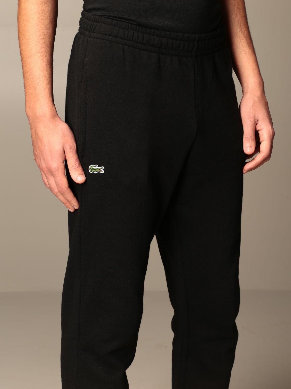 Pantalón Lacoste: Pantalón hombre Lacoste negro 3