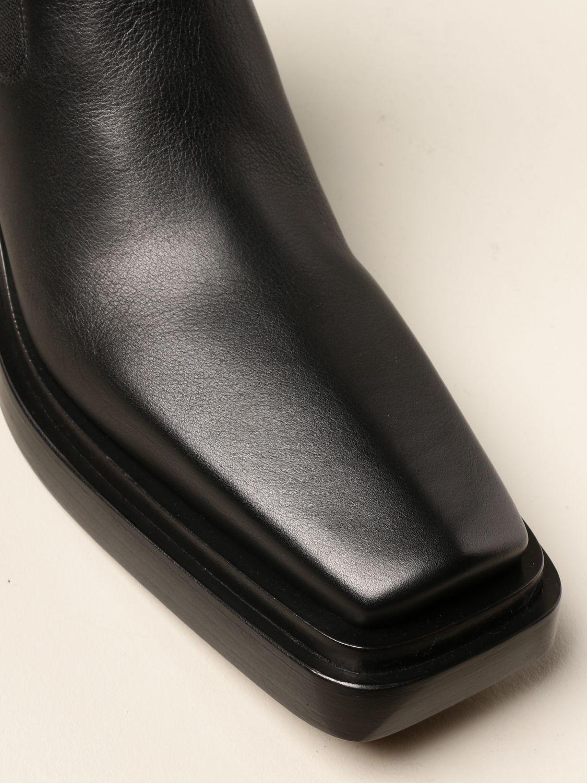 Heeled ankle boots Bottega Veneta: Heeled ankle boots women Bottega Veneta black 4