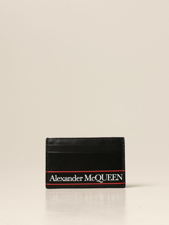 Portefeuille Alexander Mcqueen: Portefeuille homme Alexander Mcqueen noir 1