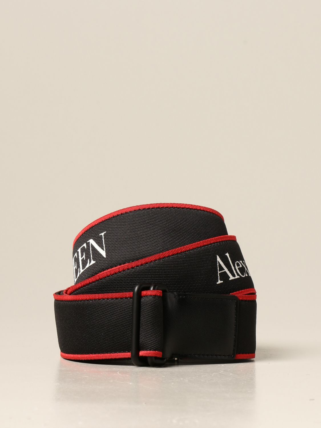 Belt Alexander Mcqueen: Belt men Alexander Mcqueen black 1