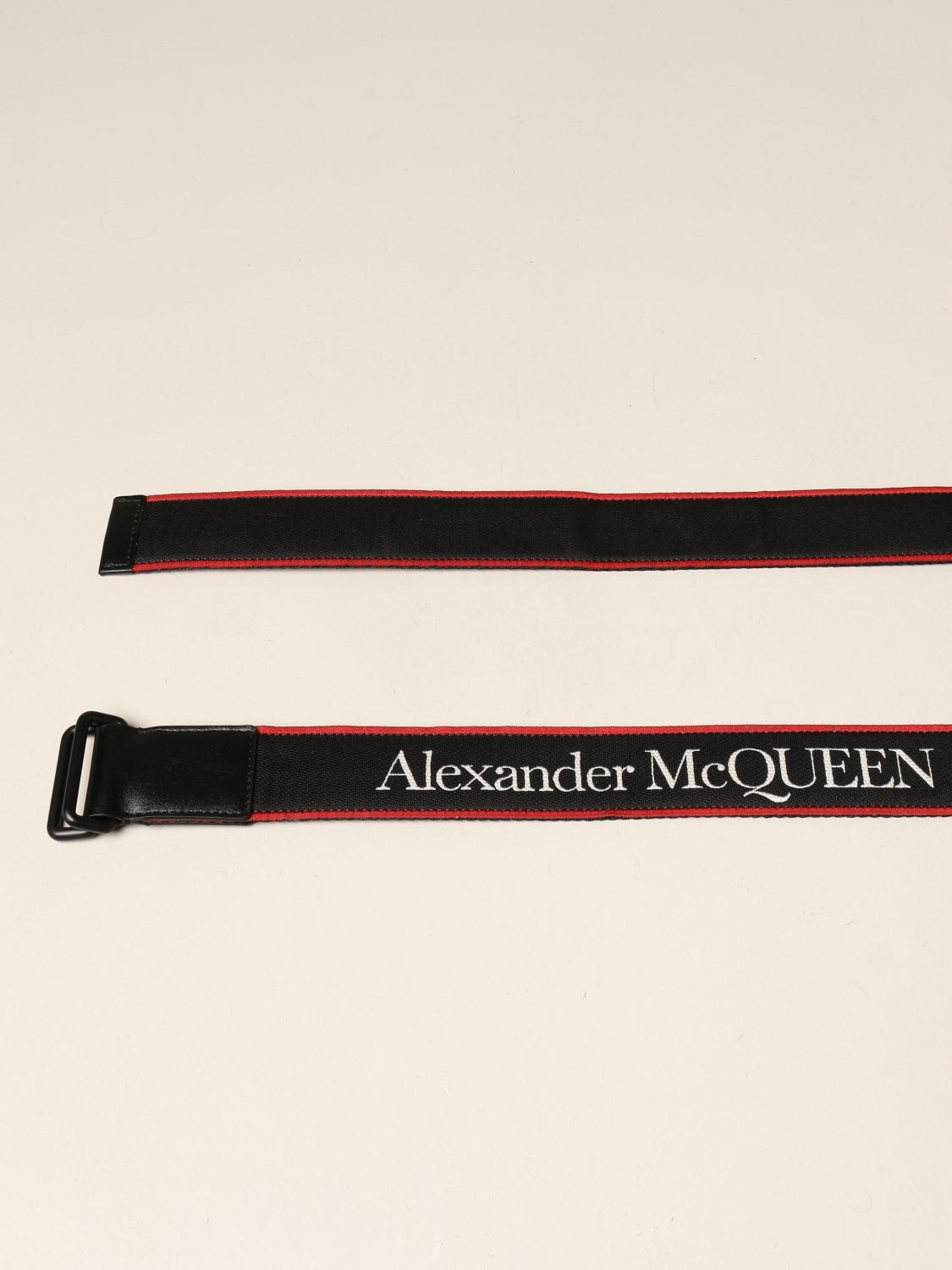 Belt Alexander Mcqueen: Belt men Alexander Mcqueen black 2
