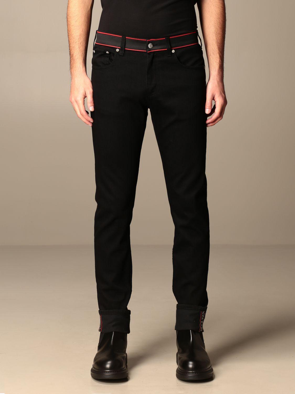 Trousers Alexander Mcqueen: Trousers men Alexander Mcqueen black 1