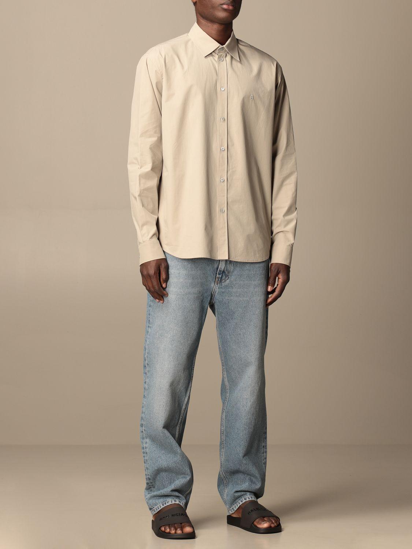 Chemise Balenciaga: Chemise homme Balenciaga sable 2