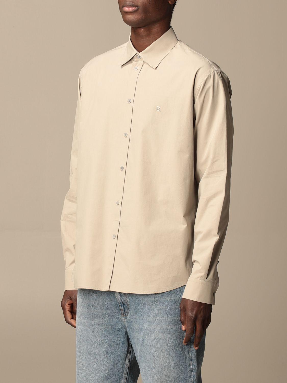 Chemise Balenciaga: Chemise homme Balenciaga sable 4