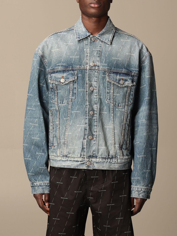 Veste Balenciaga: Veste homme Balenciaga bleu 1