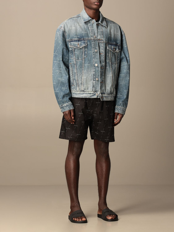 Veste Balenciaga: Veste homme Balenciaga bleu 2