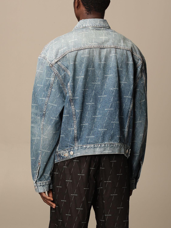Veste Balenciaga: Veste homme Balenciaga bleu 3