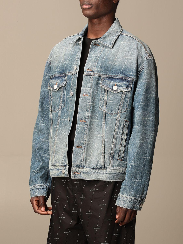 Veste Balenciaga: Veste homme Balenciaga bleu 4