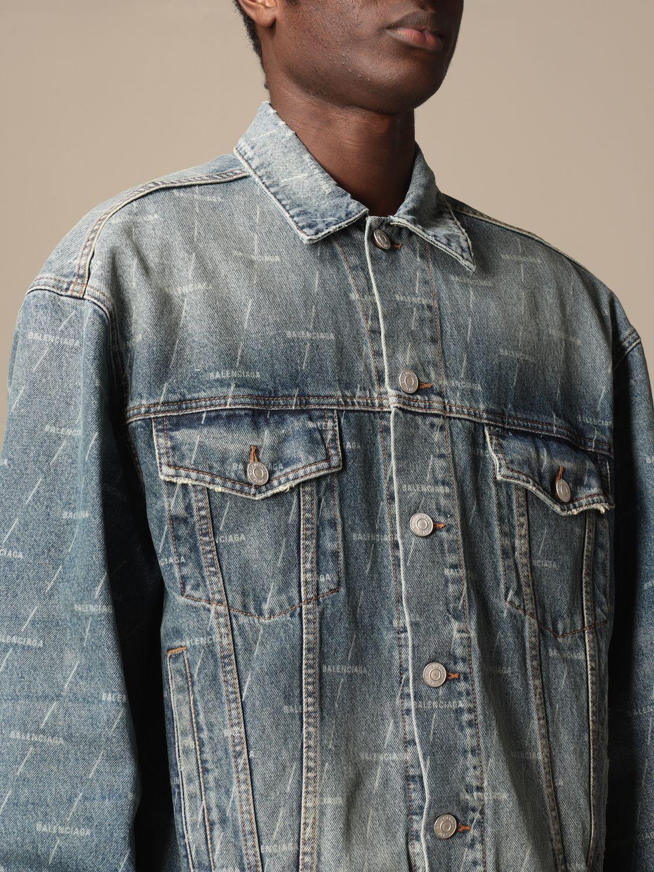 Veste Balenciaga: Veste homme Balenciaga bleu 5