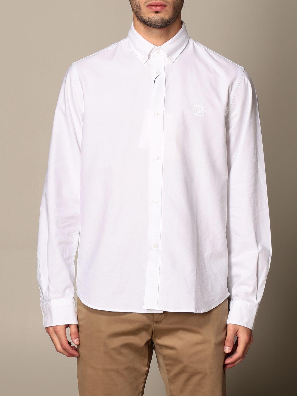Shirt Kenzo: Kenzo basic cotton shirt white 1