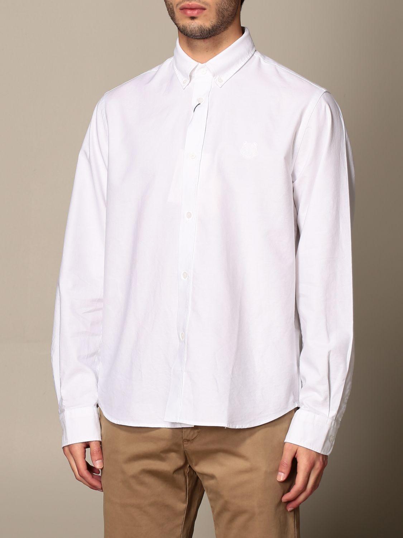 Shirt Kenzo: Kenzo basic cotton shirt white 3