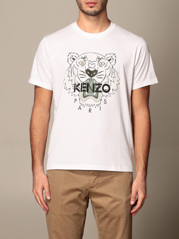T-shirt Kenzo: T-shirt men Kenzo white 1