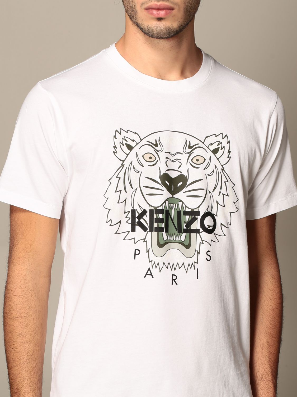 T-shirt Kenzo: T-shirt men Kenzo white 4