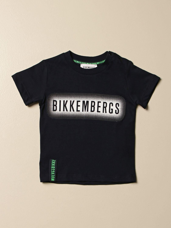Camiseta Bikkembergs: Camiseta niños Bikkembergs azul oscuro 1
