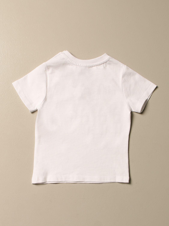 Camiseta Bikkembergs: Camiseta niños Bikkembergs blanco 2