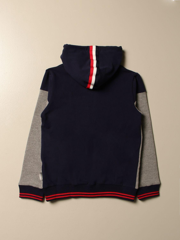 Sweater Australian: Australian hooded sweatshirt with zip grey 2