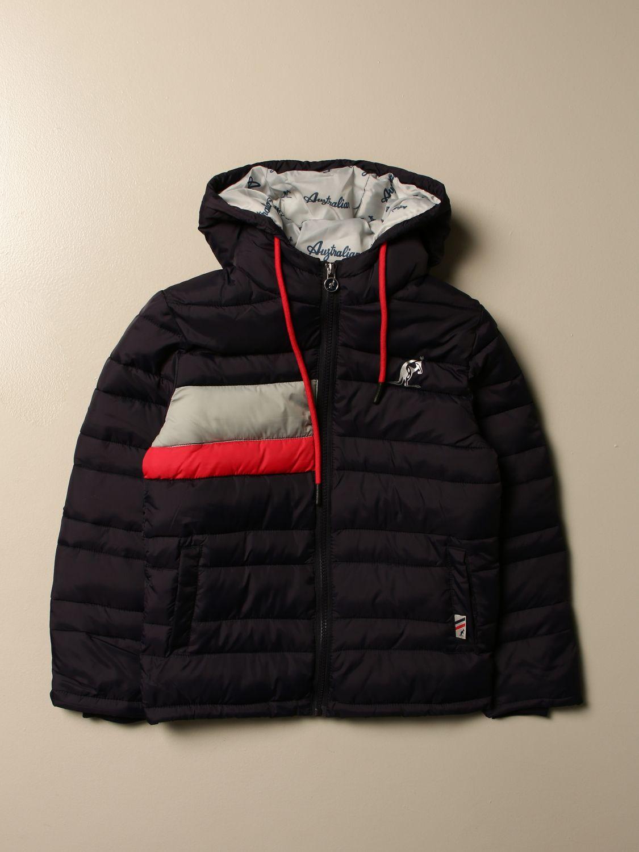 Jacket Australian: Australian down jacket with hood blue 1